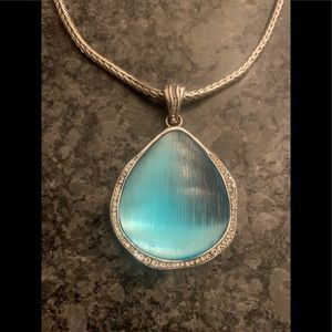 Beautiful Brighton Trinity Blue Necklace